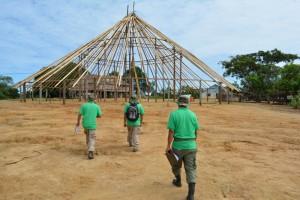 ACT rangers op weg naar de Tukuispan