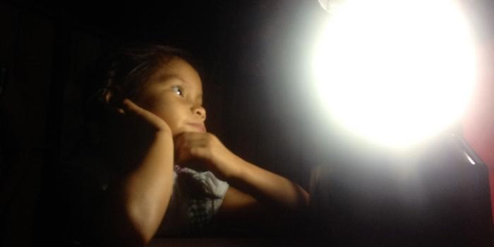 Laat het licht schijnen