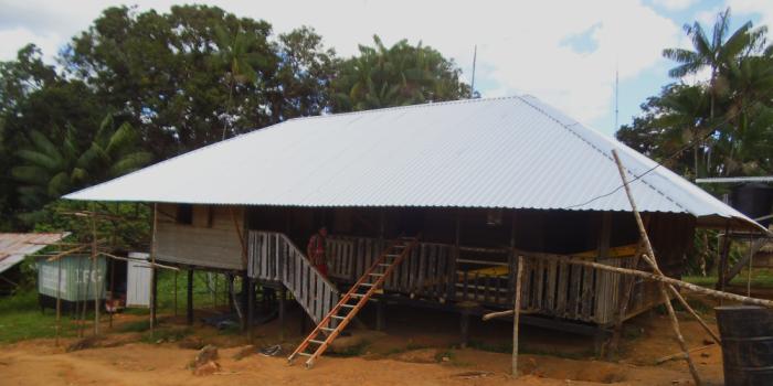 Het nieuwe dak