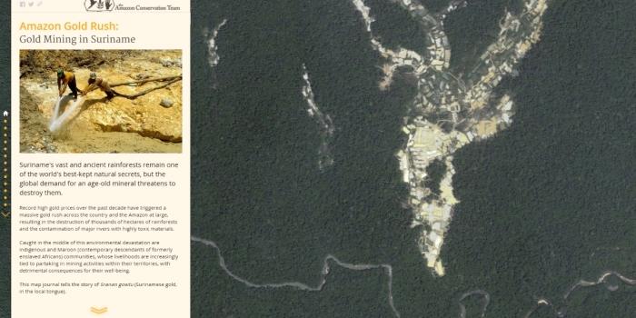 Amazon Gold Rush: Gold Mining in Suriname