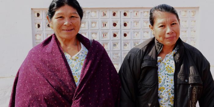 Solar women terug uit India