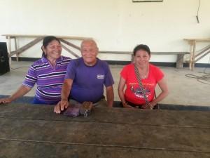 Anna en Ketoera terug in Tepu