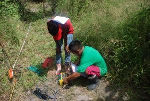 measurements activities in the field