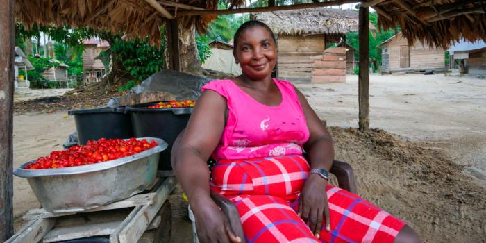 ACT in de Palmentuin met honing en peper