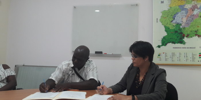 Samenwerking met Stichting voor Dorpsontwikkeling Matawai