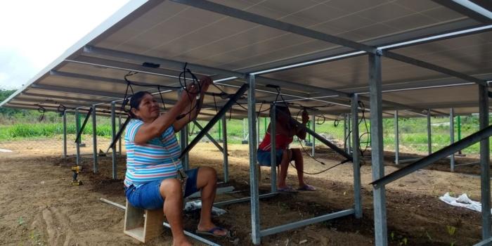 Duurzaam licht voor Tepu