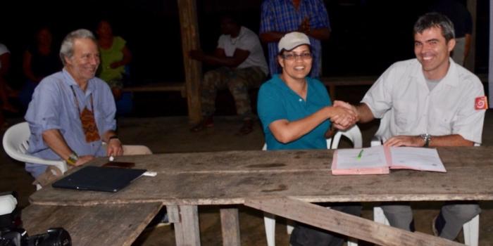 Samenwerkingsovereenkomst tussen Parc Amazonien Guyane & ACT Suriname