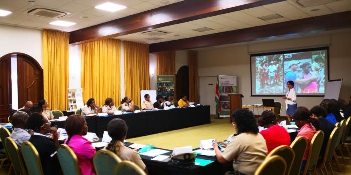 ACT-Suriname en DC's brainstormen over bestendiging samenwerking