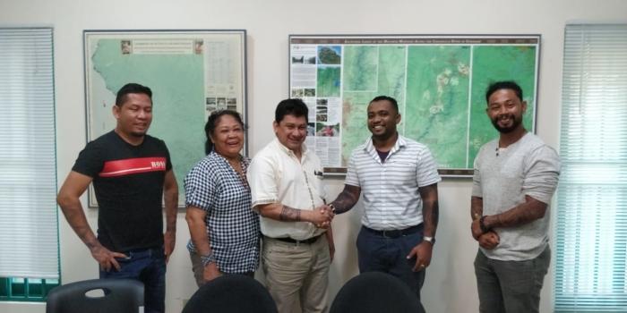 OIS en COICA bezoeken ACT Suriname